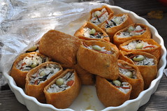 inari zushi (JUN / LDK) Tags: california party food sushi rice inari bbq japanesefood tiburon zushi paradisebeach oinari