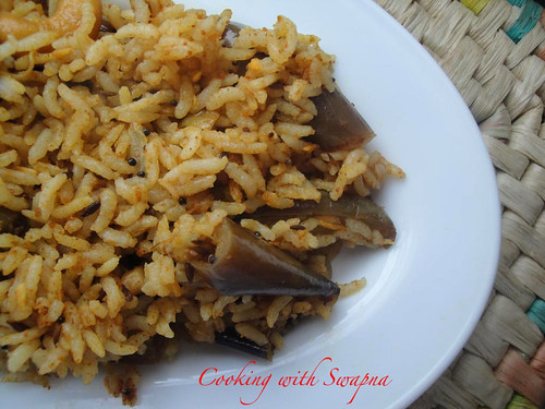 Brinjal rice 1