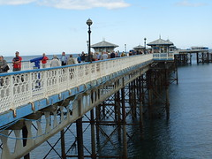 Strollers on Llandudno Pier  - July 2010 (Lenton Sands) Tags: