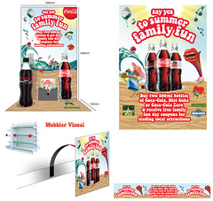 Coca Cola point of sale material (Caboodle Media) Tags: nottingham uk london shop retail wall swansea wales illustration liverpool bristol newcastle advertising point manchester birmingham graphics edinburgh brighton bradford floor sale glasgow south leicester sheffield leeds cardiff large plymouth belfast exhibition tyne newport installation posters stokeontrent wakefield format material hull coventry southampton productplacement derby upon printers sunderland bridgend rct wolverhampton wobblers fridgegraphics