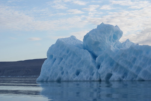 Iceberg off Devon Island