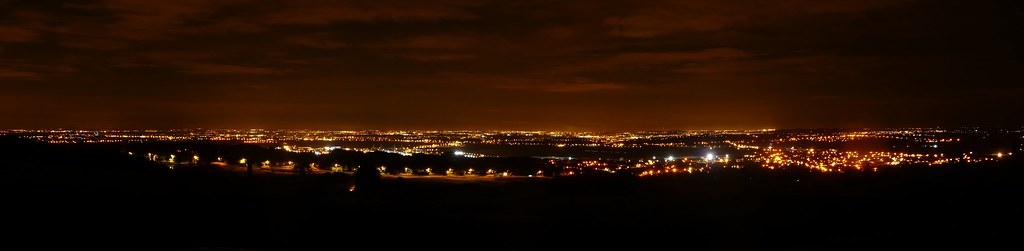Wigan and Leigh from Winter Hill (akingsnorth) Tags night lights leigh panaramic horwich & The Worldu0027s Best Photos of night and winterhill - Flickr Hive Mind azcodes.com