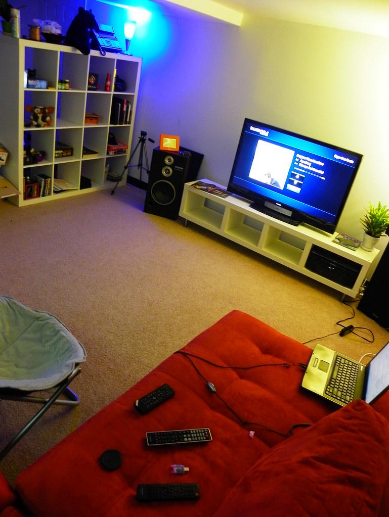 Home Studio Theater Area (Work in Progress)
