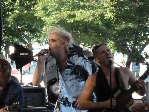 Semi Precious Weapons at Lollapalooza 2010