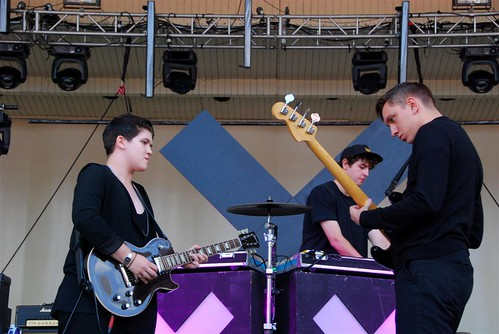 The XX at Lollapalooza