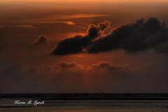 Sunset over Manahawkin Bay, New Jersey
