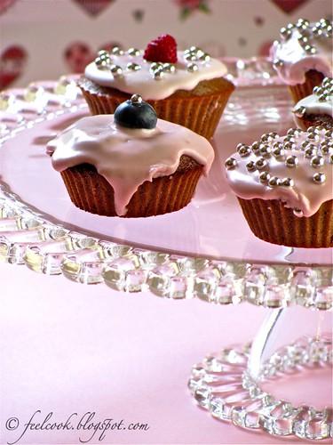 Cupcakes al cacao e cannella