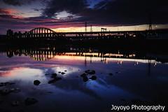(joyoyo) Tags: longexposure sunset bw nikon taiwan tokina taipei 1224mm f4 ndfilter d90 neutraldensityfilter longexposurephotography timeexposurephotography tokinaatx124afprodx1224mmf4  nd106 joyoyo tokinat124 bwnd106 bwnd64