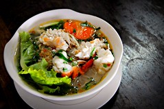 Mekong shrimp noodles