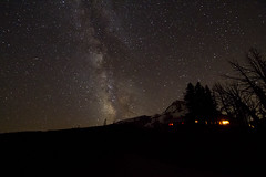 Milky Way (Squid Vicious) Tags: oregon mthood milkyway cloudcapinn perseidmeteor