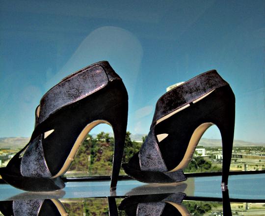 Nicholas Kirkwood Art 7 suede stilettos 3