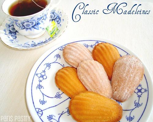 经典的madeleines