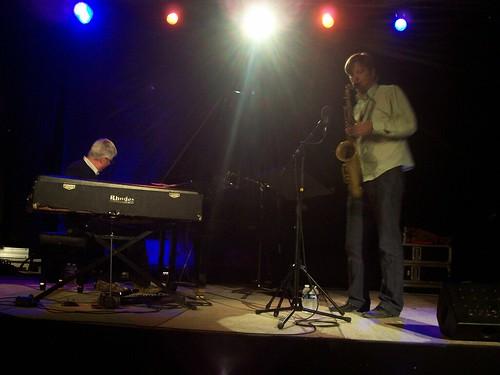 Francis Le Bras & Daniel Erdmann Duo By McYavell - 100813a