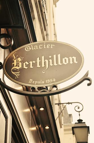 Paris - Berthillon Ice Cream