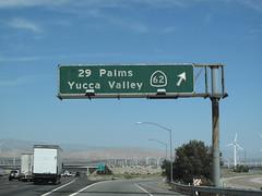 I-10 at CA 62 (therealkurumi) Tags: sign i10 ca62