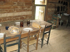 Dining Room,  Hutchinson Homestead