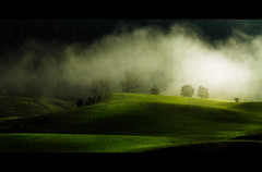 Smokies hills ( finalist in the Oasis Contest 2011) (David Butali) Tags: trees summer sun mountains salzburg green fog canon landscape austria view hills smokies 500d abtenau magiayfotografia thelittlebookoftreasures dylan66