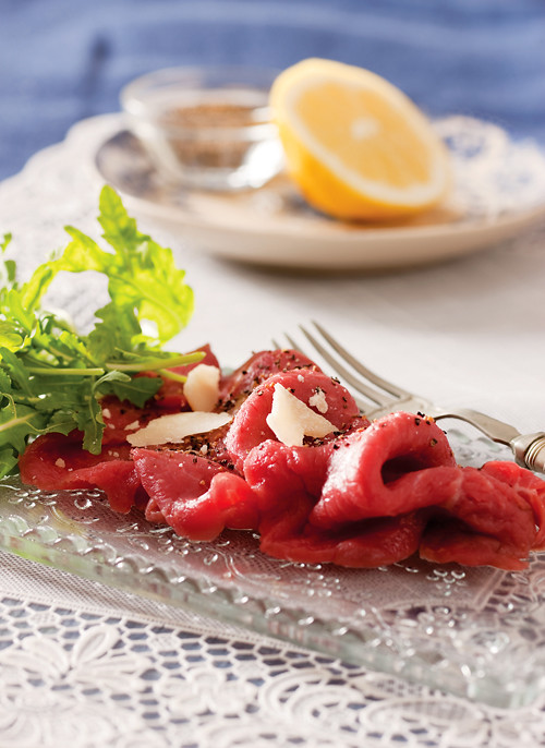 :: Catherine Fulvio's Carpaccio Di Manzo & Win a Copy of Catherine's Italian Kitchen