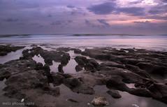 Dan tenanglah........ (memet metz) Tags: longexposure sunset sky beach landscape echo pantai slowshuter pererenan metzphotography