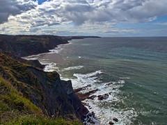 ACANTILADOS (JMMartn) Tags: espaa luces mar asturias acantilados pasaje pueblorural