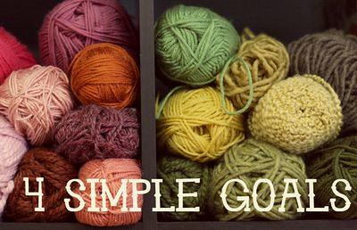 4 Simple Goals