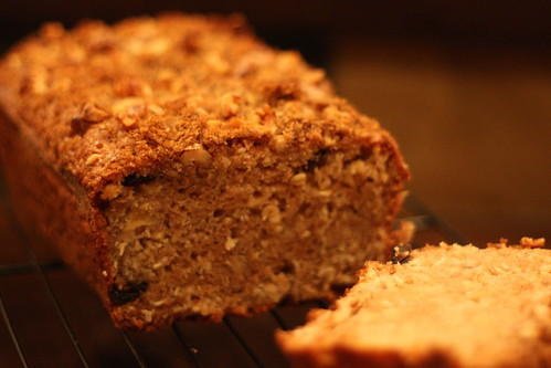 Oatmeal Breakfast Bread for Tuesdays with Dorie