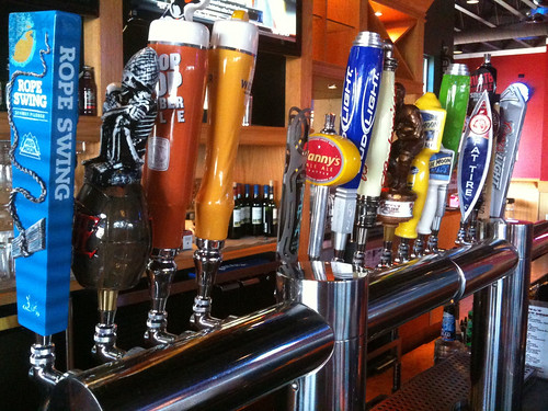 Fatty's Sports Page Beers On Tap