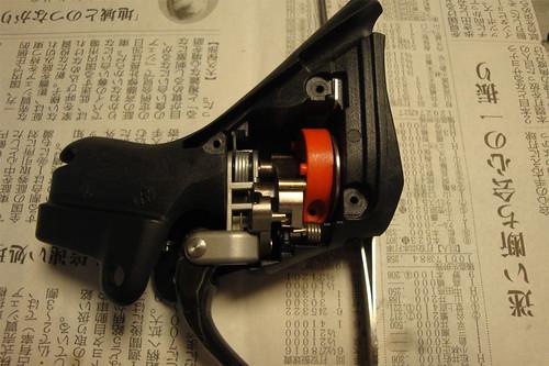Sram Doubletap lever dismantle 34