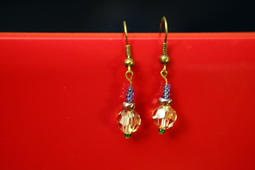 #10 swarovski earrings