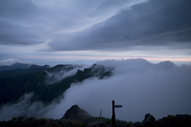 八ヶ岳の朝