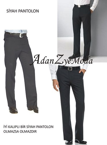 siyah pantolonlar