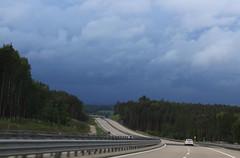 Summer adieu! (:Linda:) Tags: sky cloud germany bavaria highway wolke autobahn cloudysky wolkig takenfromacar bewlkterhimmel
