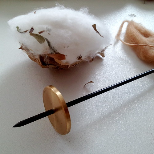 takhli spindle with cotton :D