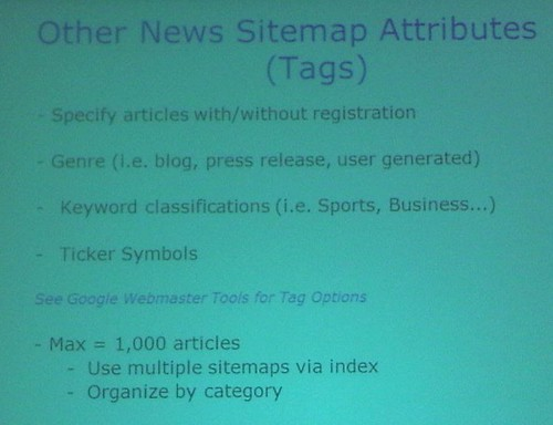 SLIDE: Other News Sitemap Attributes