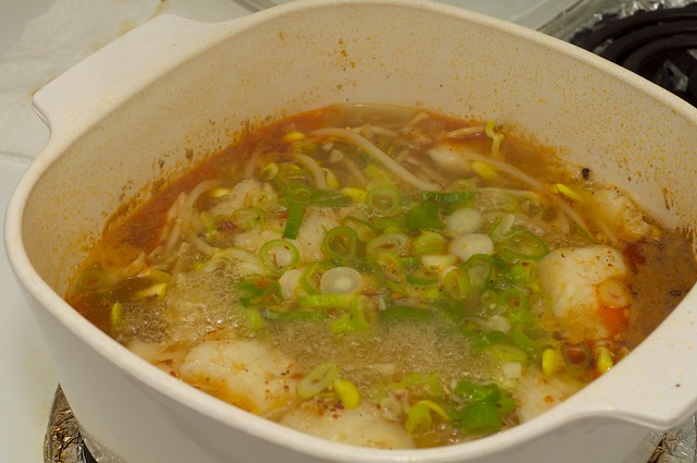 Sichuan style poached fish