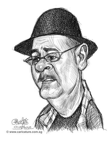Schoolism - Assignment 1 - Sketch of Dave 1