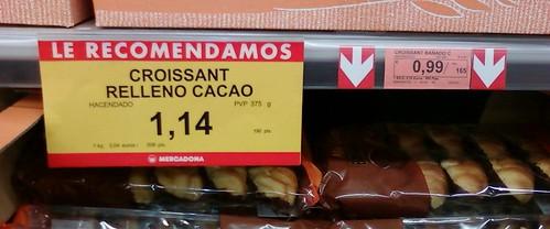 Croissants bien rellenos