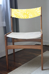 Danish Chair - Idea - Yellow Tie Dye