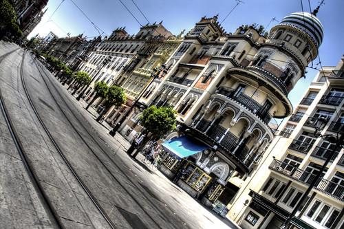 Seville buildings. Edificios de Sevilla