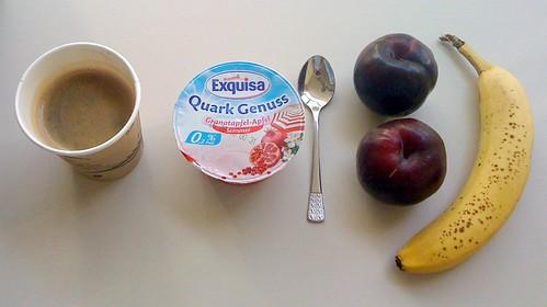 Quark Genuss, Pflaumen & Banane