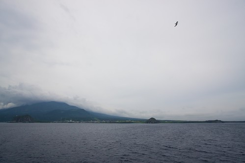 礼文島を目指して出港