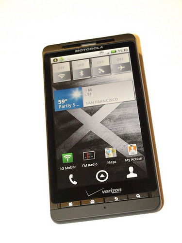 Motorola Droid X video review