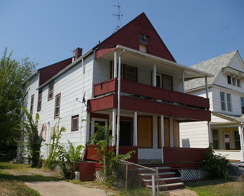 Langston Hughes house - CONDEMNED