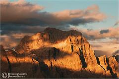 Sorapiss, Dolomiti - Italy (Enrico Grotto) Tags: sunset mountain color landscape italia tramonto nuvole cielo nikkor colori alpi paesaggi montagna luce paesaggio dolomiti nubi d40 wondersofnature cluod marmarole nikkor55200 sorapiss grottoenrico