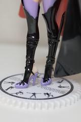 A賞 黒うさぎ シェリル 見て!脚のディティール