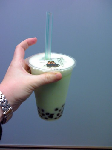 Green Apple Bubble Tea