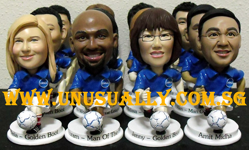 Customzied Corporate Gifts - Personalized 3D Soccer figurines (1)