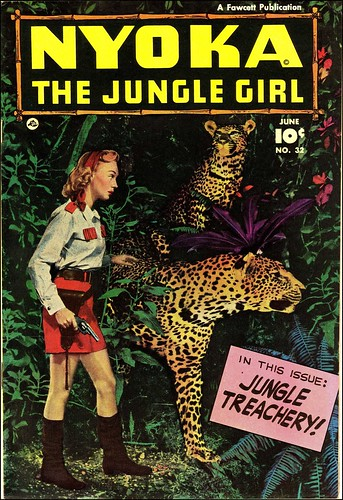 Nyoka the Jungle Girl #32