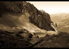 Lac de Tardevant (Maud Bocquillod) Tags: montagne alpes laclusaz lacdetardevant