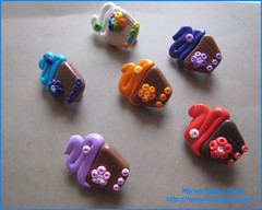 dulcitos II (mayyica) Tags: handmade brooch polymerclay fimo donuts brooches kato prendedores miniaturas broches hechoamano pedrageria